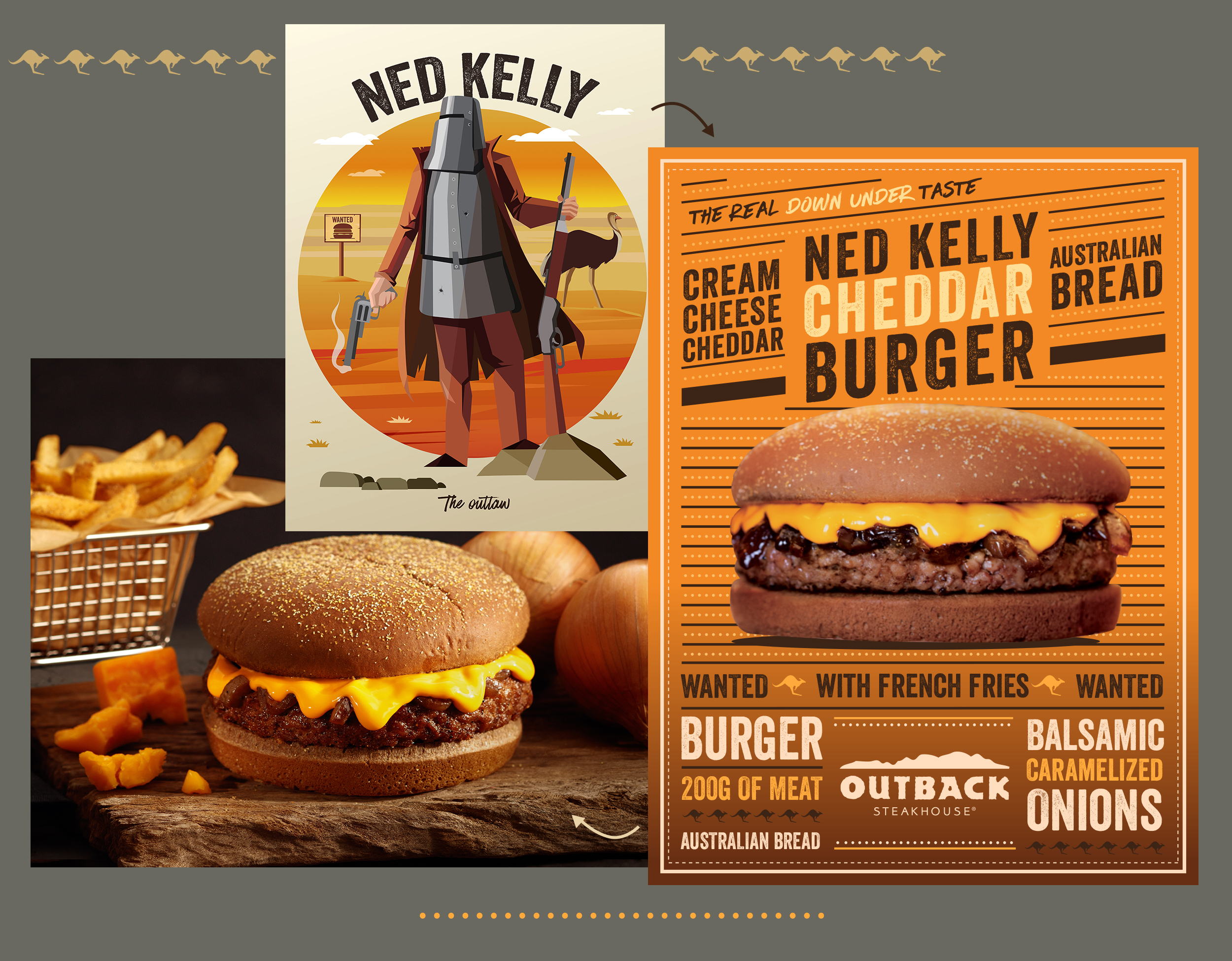 Ned Kelly Burguer