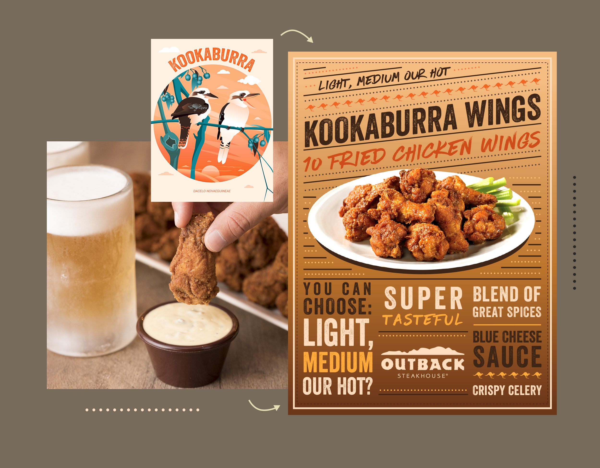 Kookaburra Wings